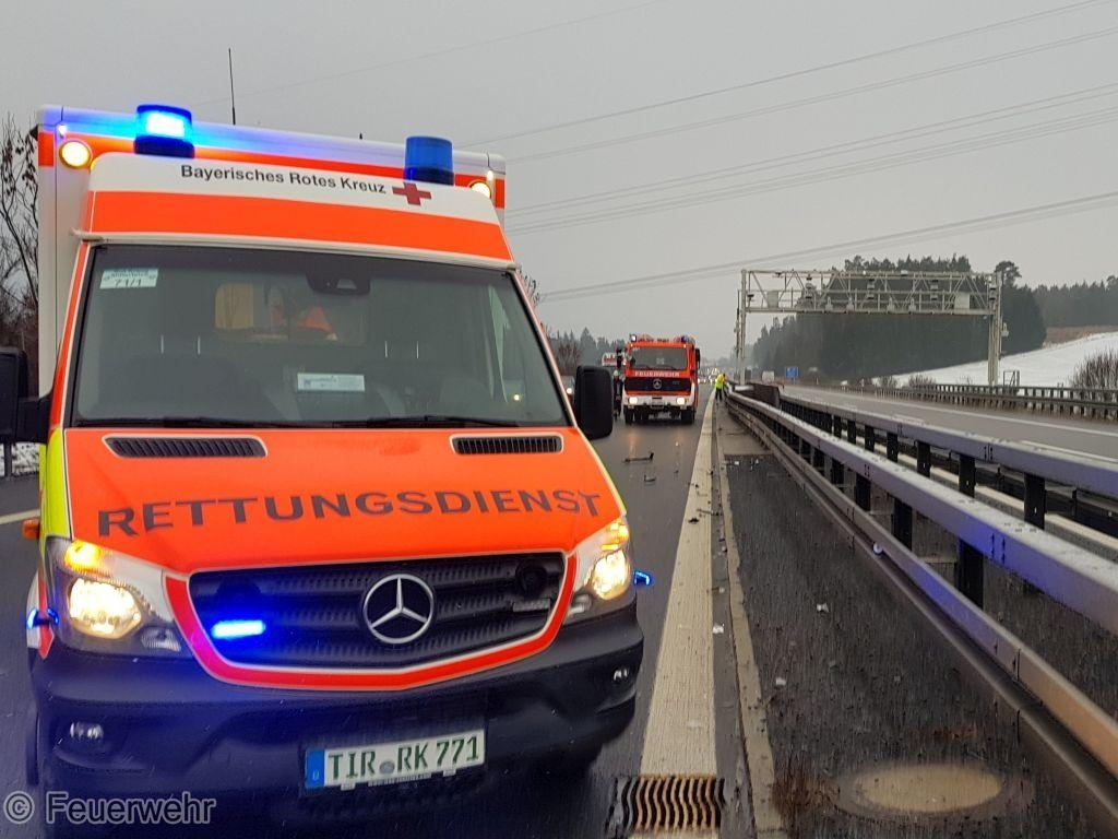 Verkehrsunfall A 93